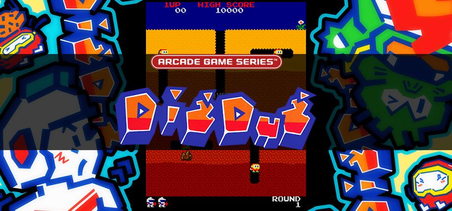Arcade GS - Dig Dug 01 HD