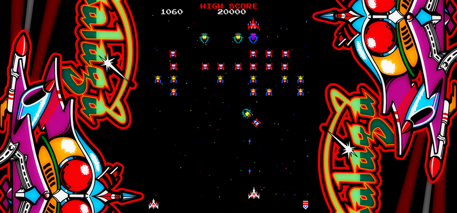 Arcade GS - Galaga 02 HD textless