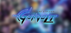 Azure Striker Gunvolt 05 blurred