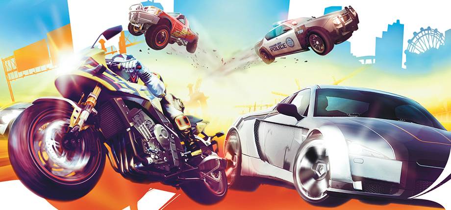Burnout Paradise 12 HD textless