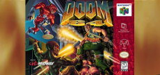 DOOM 64 10 unused box art
