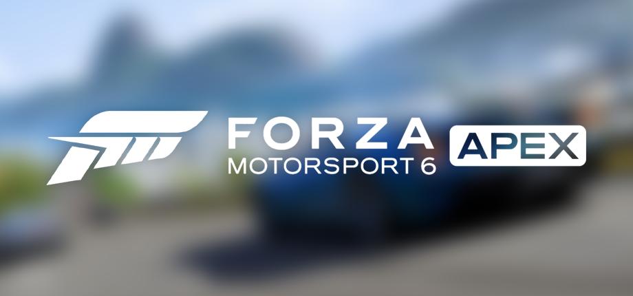 Forza MS6A 20 HD blurred