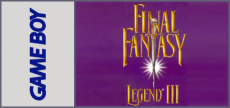 Game Boy - Final Fantasy Legend 3