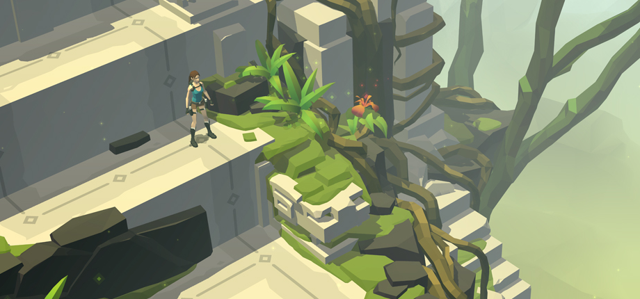 Lara Croft GO 02 HD textless