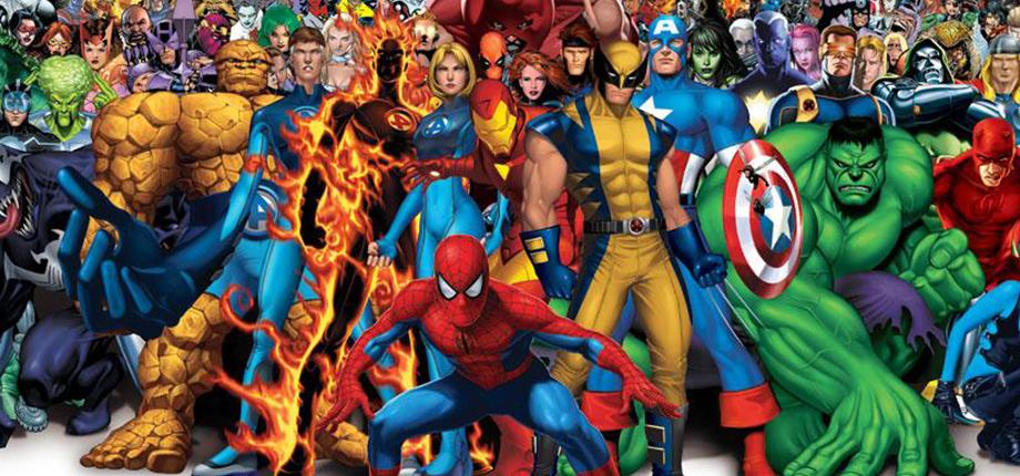 Marvel Heroes 14 HD textless