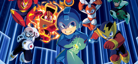 Mega Man Legacy Collection 04 textless