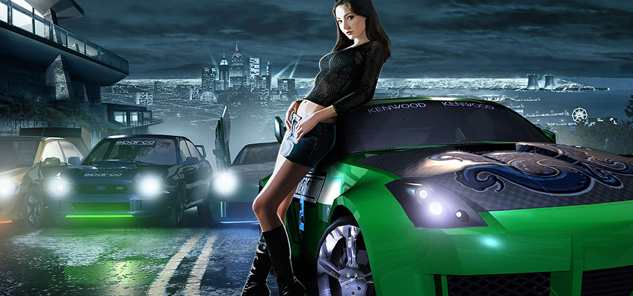 Need For Speed Underground 2 06 HD textless
