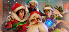 Overwatch 72 HD Winter Wonderland textless