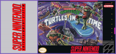 SNES - TMNT 4 Turtles in Time
