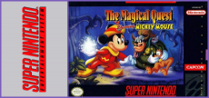 SNES - The Magical Quest Mickey Mouse