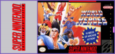 SNES - World Heroes 1