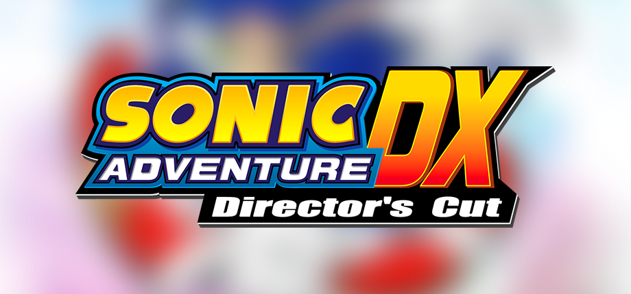 Sonic Adventure DX DC 11 HD blurred