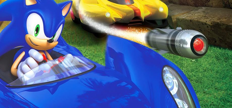 Sonic Racing 02 HD textless