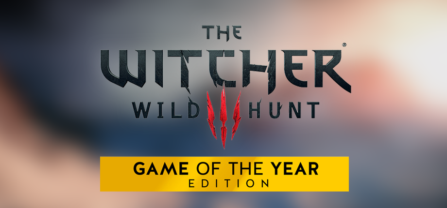 Witcher 3 GOTY 03 HD blurred
